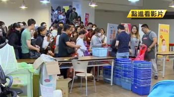 搶搭兒童節商機!玩具特賣會吸引百人排隊