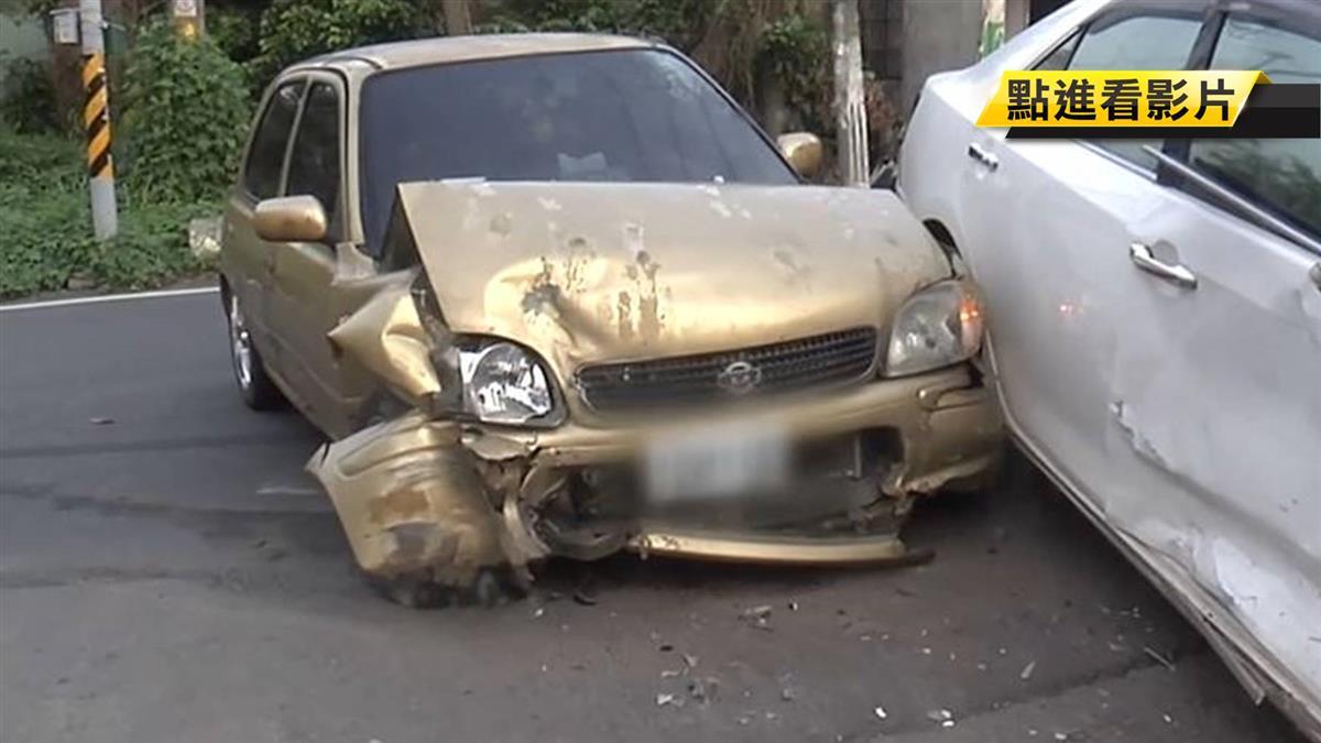 與轉彎車擦撞 駕駛下車竟落跑…原來是酒駕