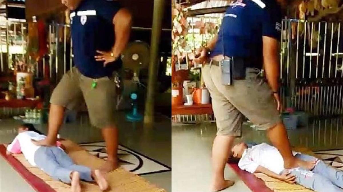 找按摩師治腿痛 婦遭踩斷骨…終身坐輪椅
