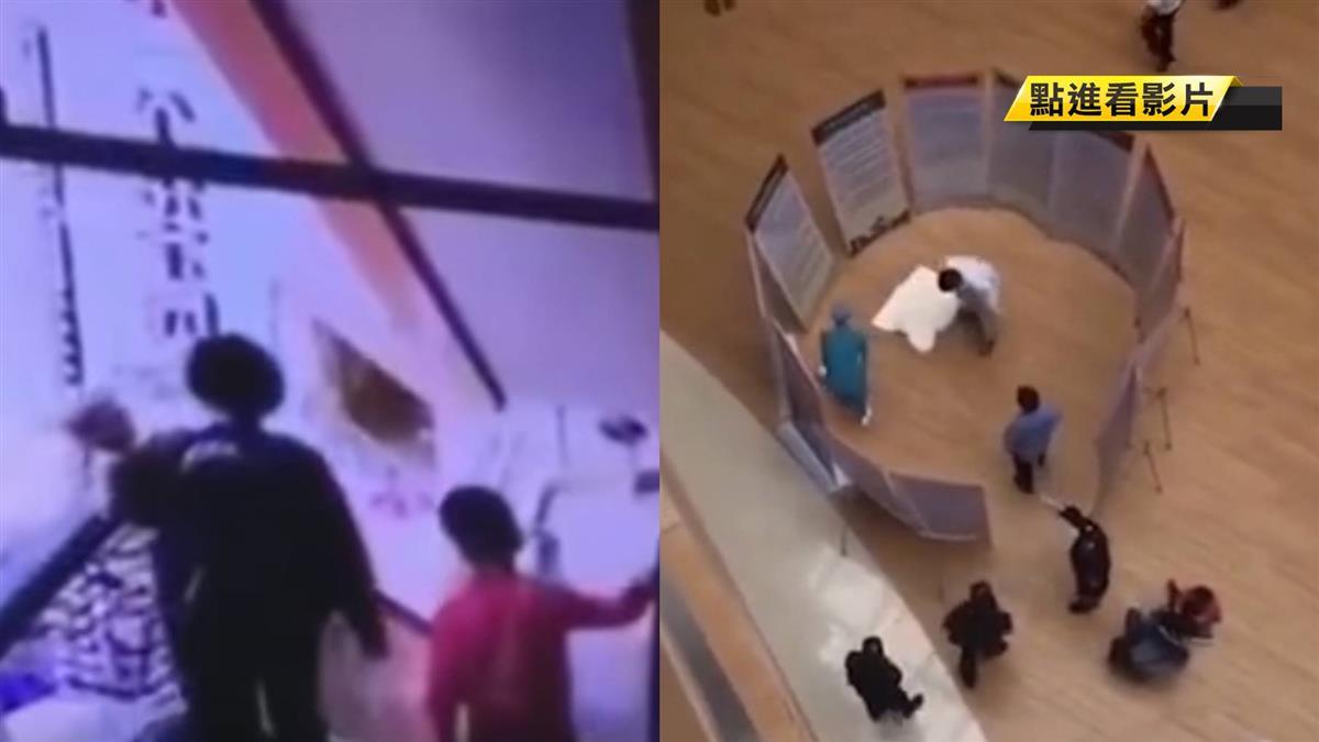 粗心媽單手抱嬰墜3樓 網見影片:不單純