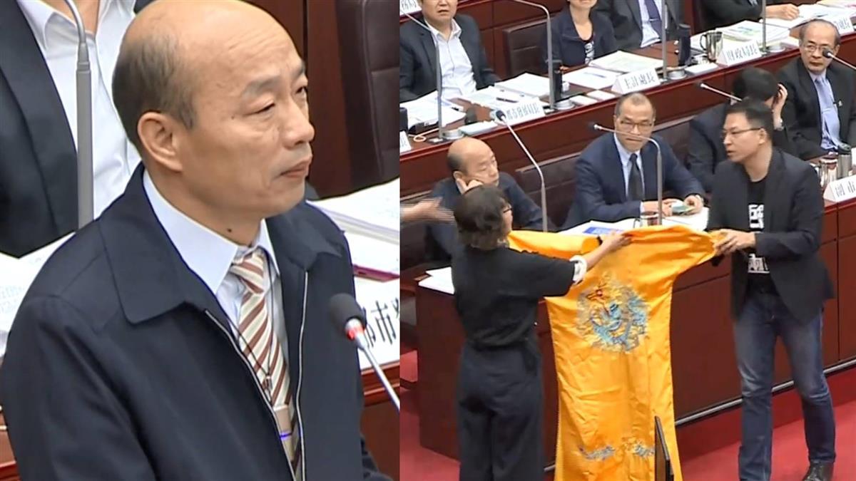 沒把話說死!被問徵召選總統 韓國瑜6字回應