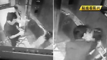 影片瘋傳 電梯強吻9歲女童!前檢察官強辯…