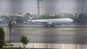 港龍飛香港班機引擎起火 317人順利迫降
