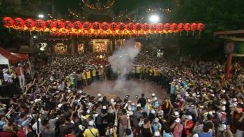 大甲媽祖遶境9天8夜行程 15萬人聚集祈福