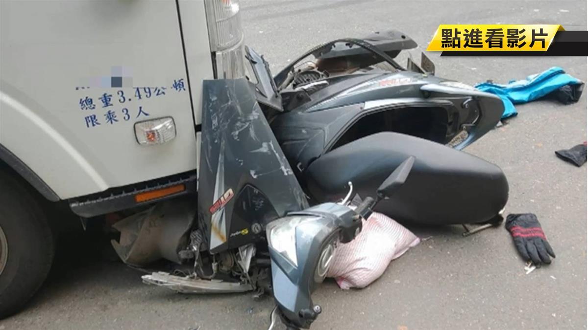 載孫上學返程遇劫 61歲老翁遭貨車撞亡...