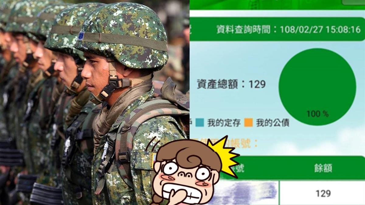 34K上兵存款剩129元!月光原因曝光 網傻眼