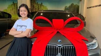 超勵志!她5歲當網紅 7年後買BMW送自己