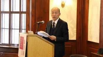 金句再現哈佛!韓國瑜演講 台灣未來靠這20字