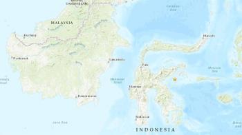 印尼東部外海6.8強震 傳1人死亡