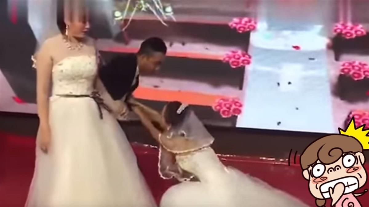 新娘不是我!前女友穿婚紗搶人 結局超展開