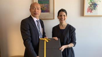 韓國瑜訪洛杉磯副市長 談城市治理、兩岸關係