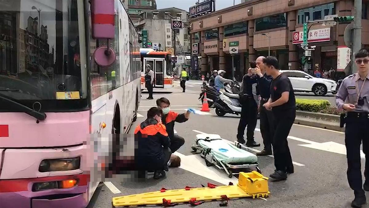 血肉模糊!老婦景美站前遭公車狠輾拖行