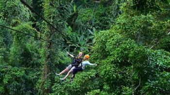 125公斤男玩叢林飛索!繩索突斷裂…墜谷慘死