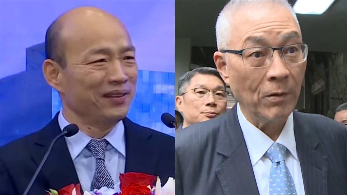 韓國瑜批3總統 吳敦義怒斥:我當閣揆表現最好