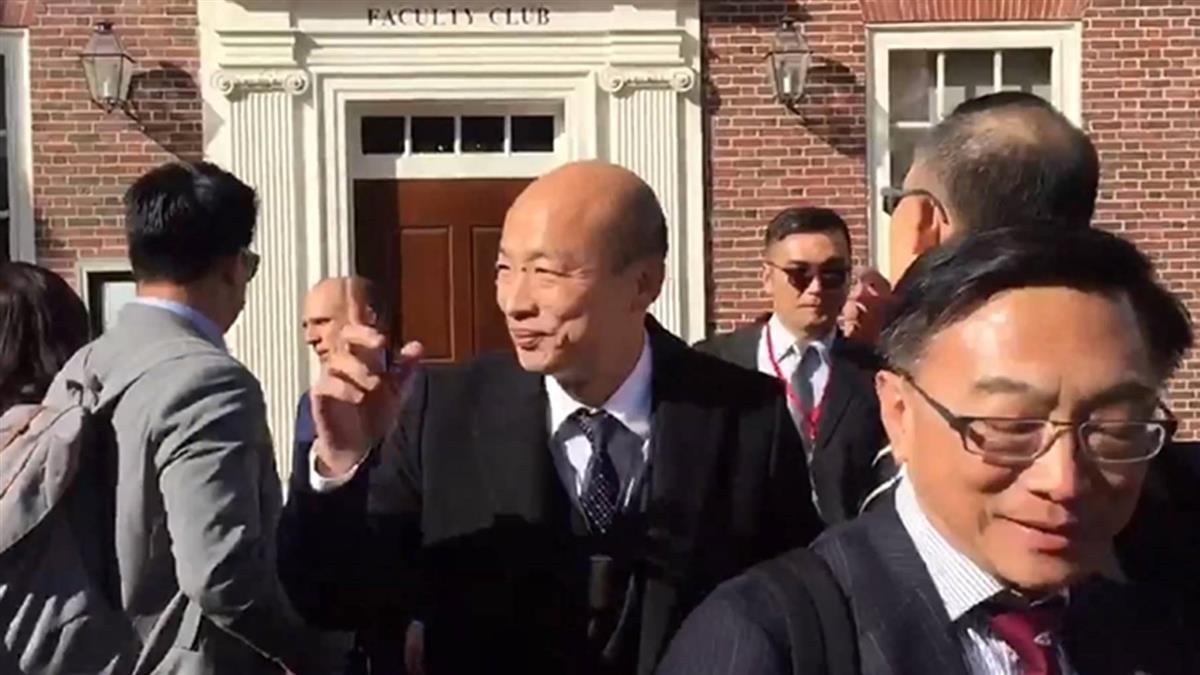 僑胞力拱韓國瑜大選聲勢!喊:韓國瑜選總統
