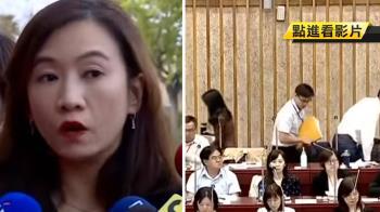 王淺秋訪美缺席備詢 新聞局5官員遭趕出議事廳