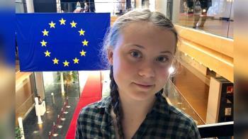 像救聖母院一樣救地球 瑞典少女:抗暖化不能等