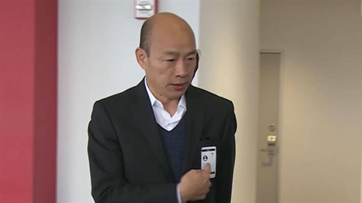 訪特斯拉、台達電、蘋果總部 韓國瑜興奮看高科技