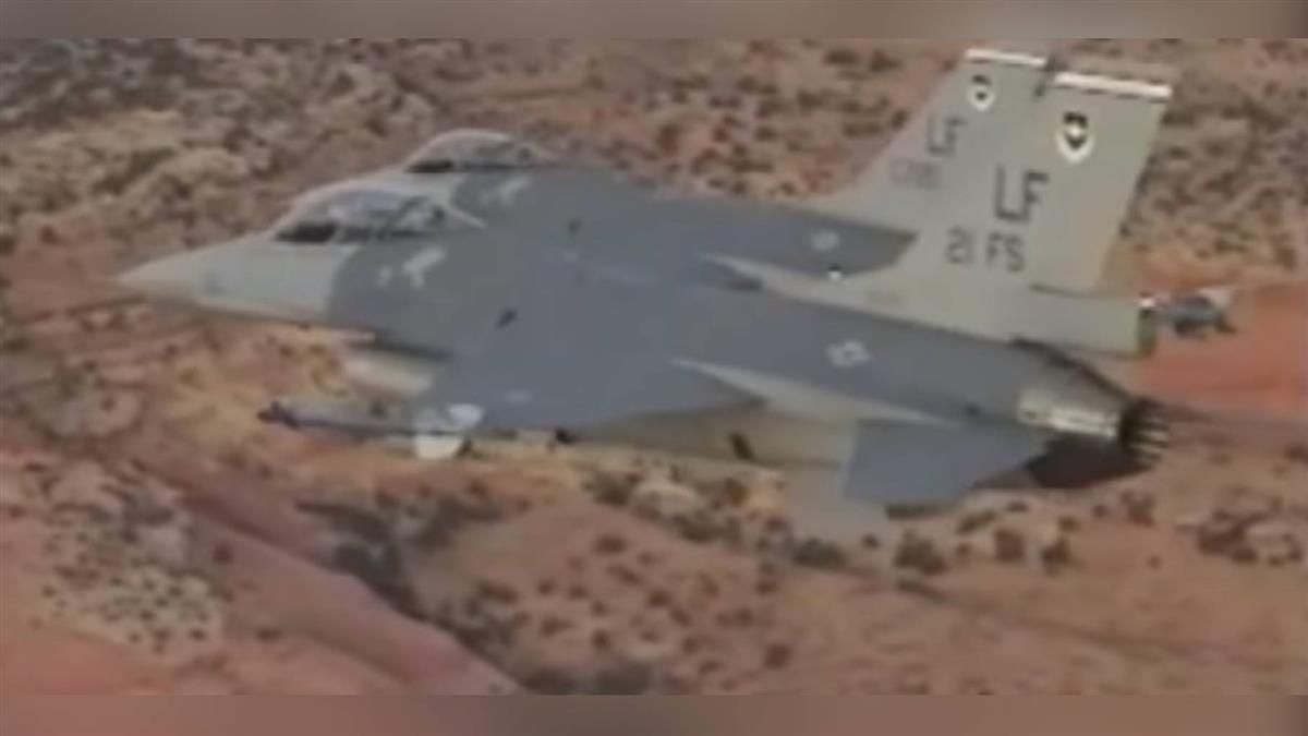 F-16飛行員駐美受訓  空軍首度公布畫面