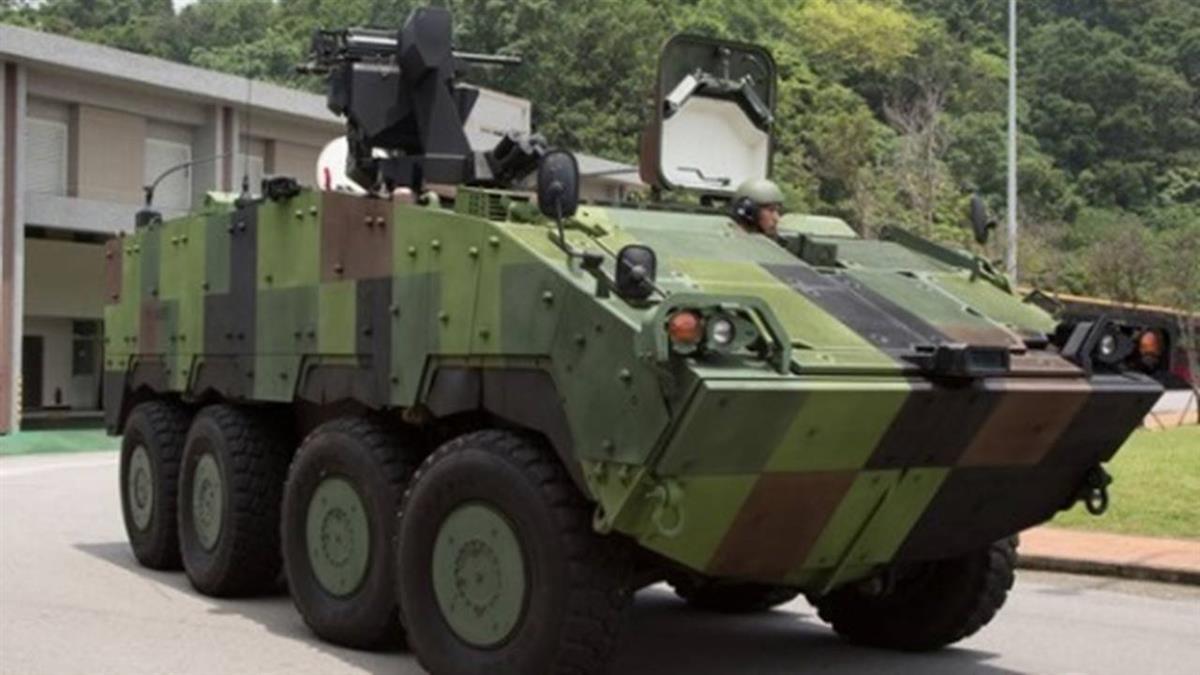 雲豹再升級!30公厘機砲型進駐首都