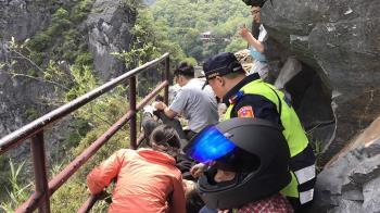 花蓮地震中橫公路落石 馬來西亞男遊客重傷
