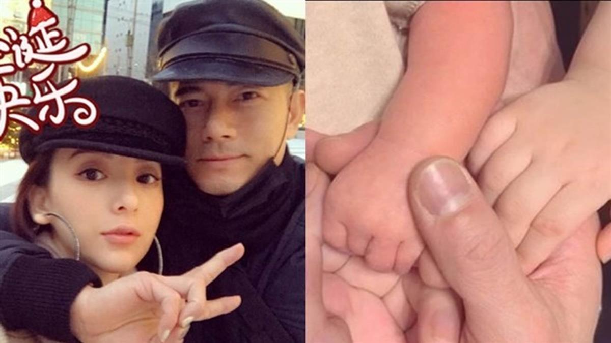 恭喜!郭富城妻第二胎生了 開心3年抱2寶