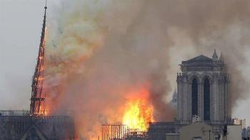 火噬聖母院全國心碎!台灣燒「這一棟」會崩潰