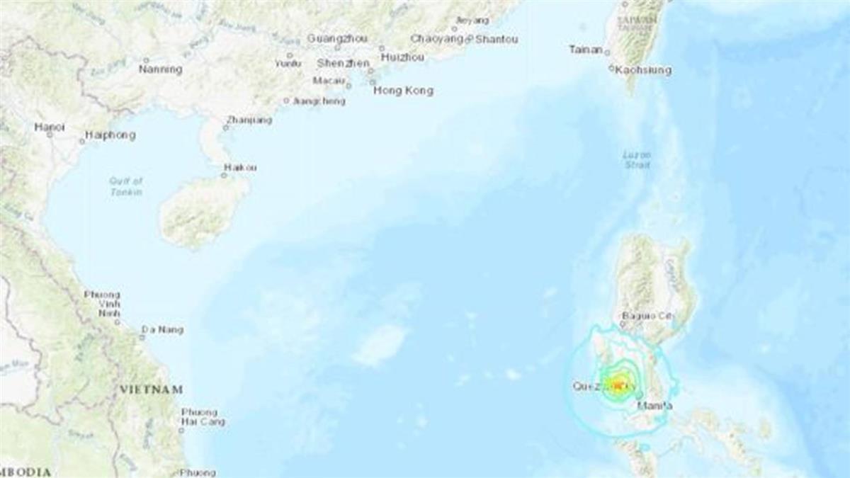 菲律賓6.3強震 2建物倒塌已釀5死