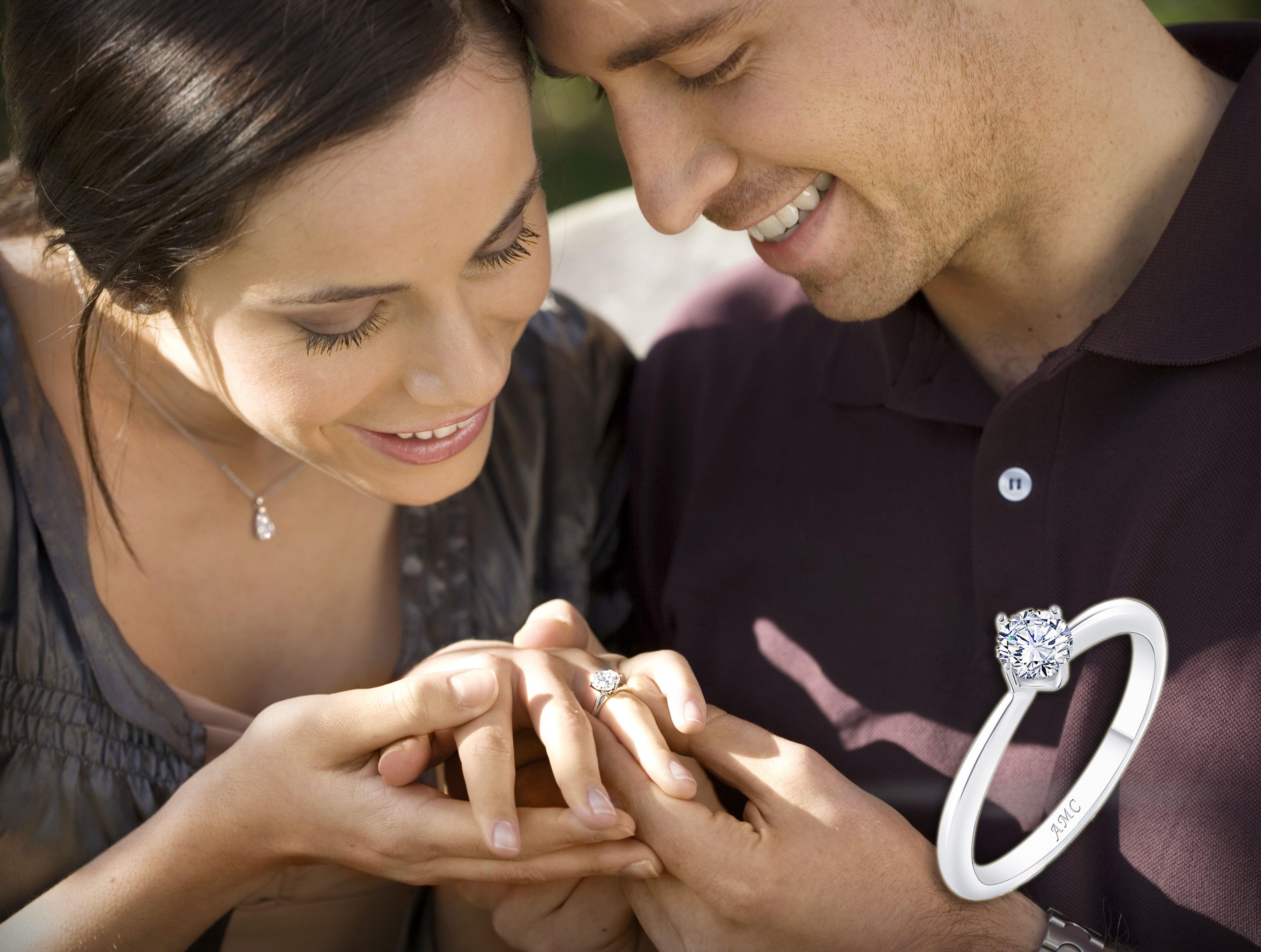 求婚必看4大選鑽術!「AMC鑽石婚戒」教你挑選鑽戒不踩雷