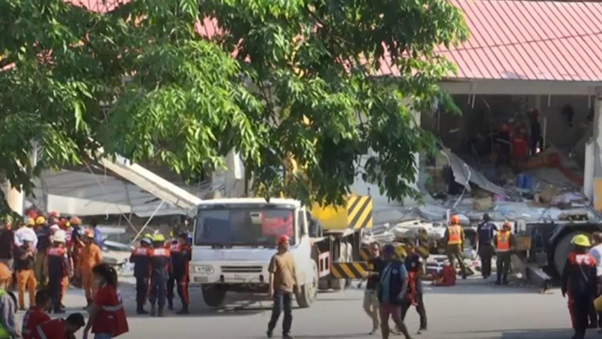 菲律賓6.3強震攀至11死 搜救持續罹難恐續增