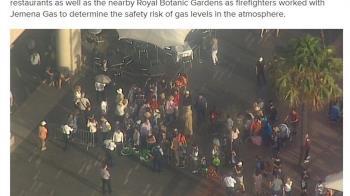 雪梨歌劇院瓦斯外洩 緊急疏散約500人