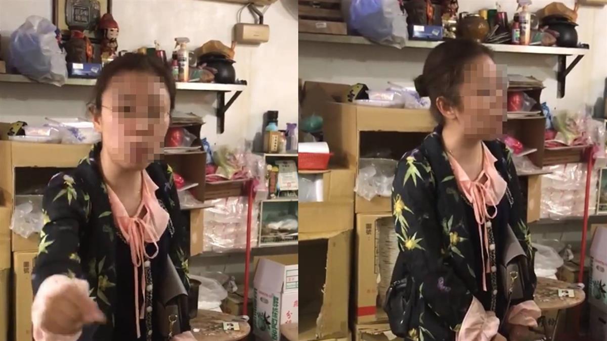 陸女闖櫃台 吐痰嗆:國家風格!