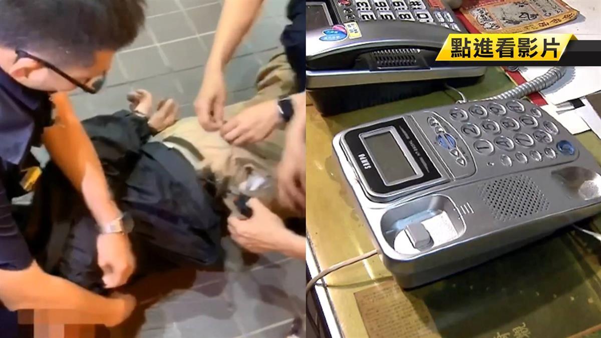 通緝犯闖佛具店借電話 遭拒後持刀砍人遭逮