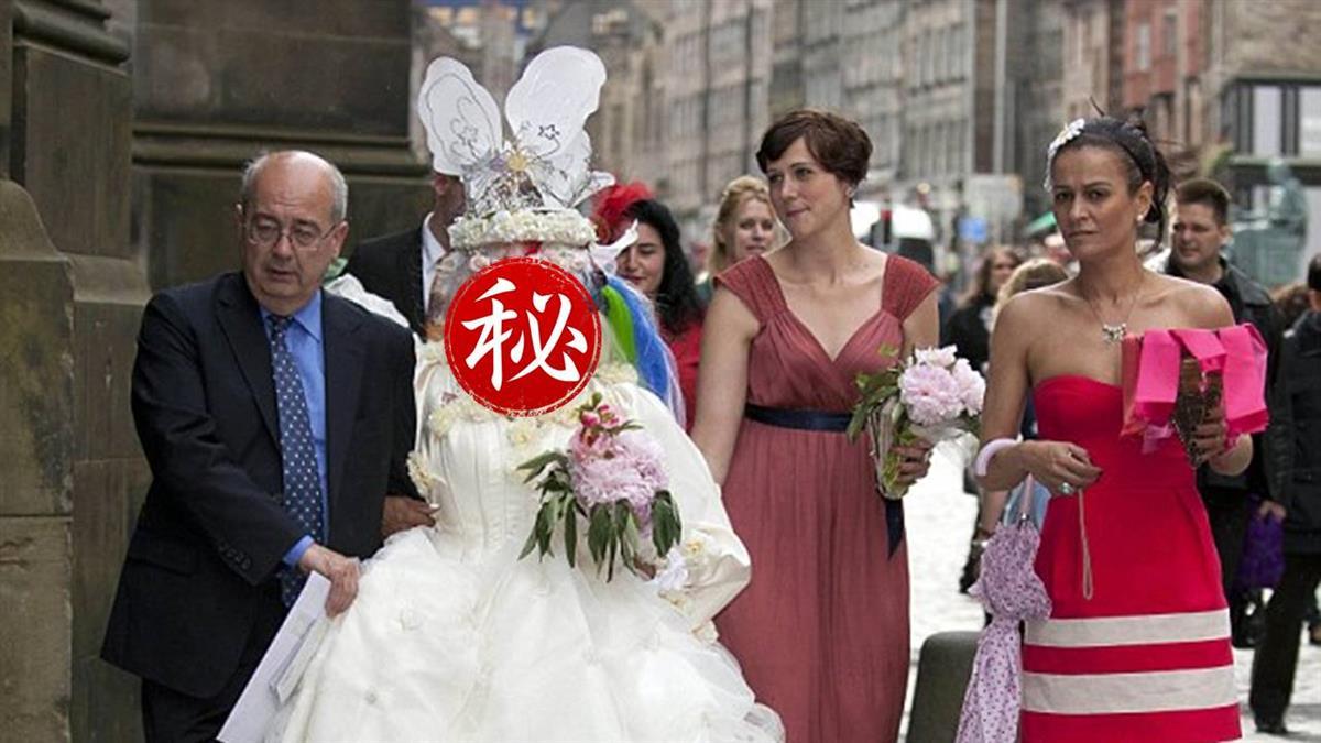 全身穿7千洞!最醜新娘嫁億萬富豪 夫讚:很美