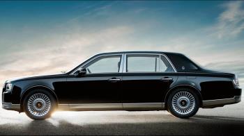 黑道有錢也買不到!新日皇專屬座車非勞斯萊斯而是它
