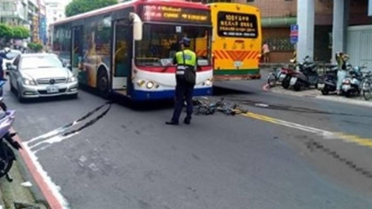 永和奪命車禍! 男騎腳踏車遭公車輾斃