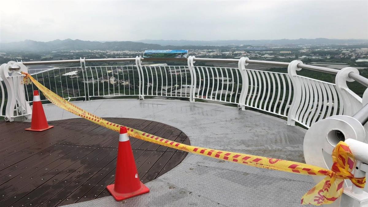快訊/崗山之眼傳墜落意外! 19歲男墜8樓高廊道亡