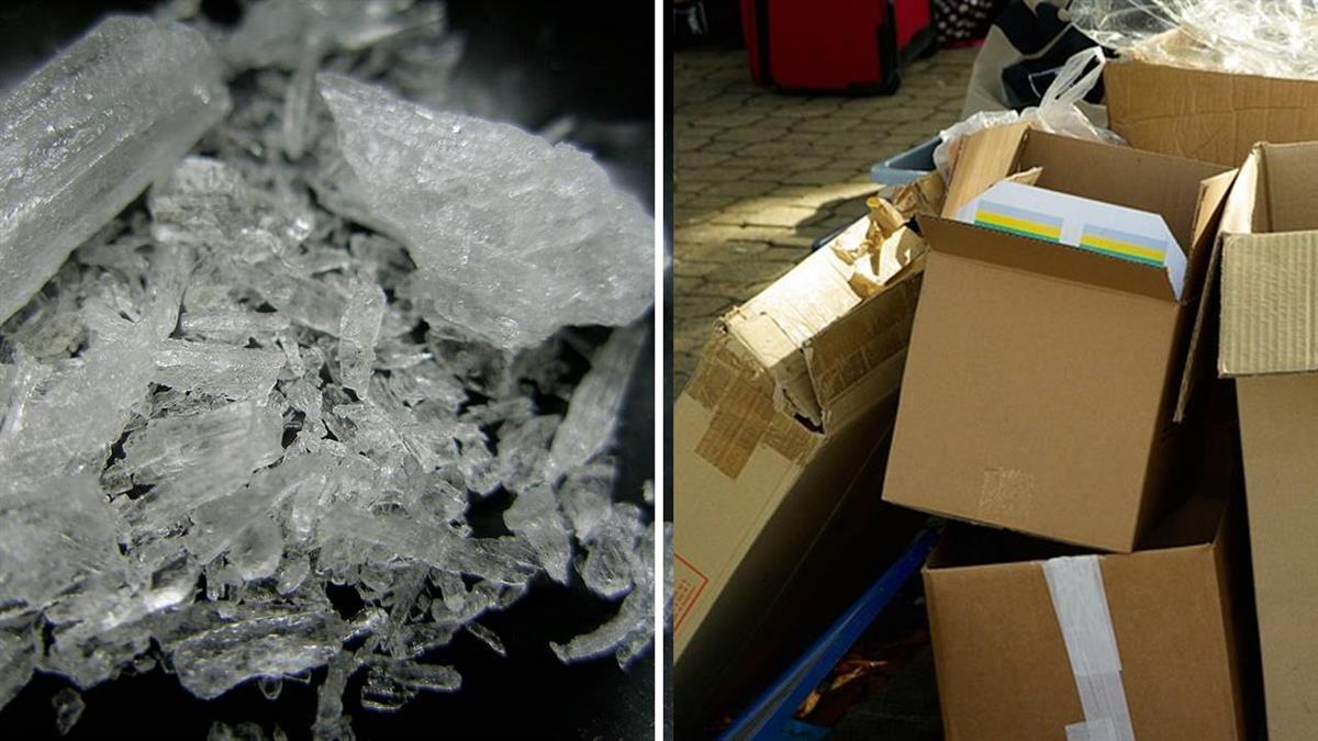 20公斤包裹送達!老夫婦拆開…竟是2億元冰毒