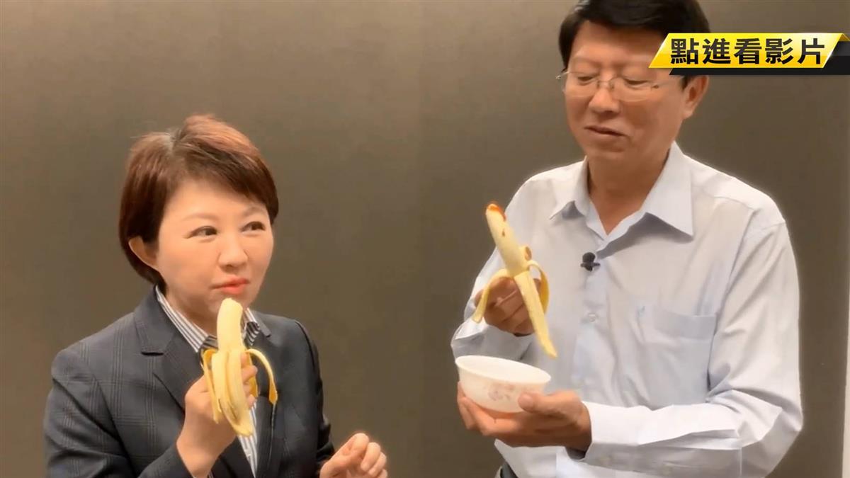 推廣台中食材!盧秀燕找謝龍介「台語大考驗」