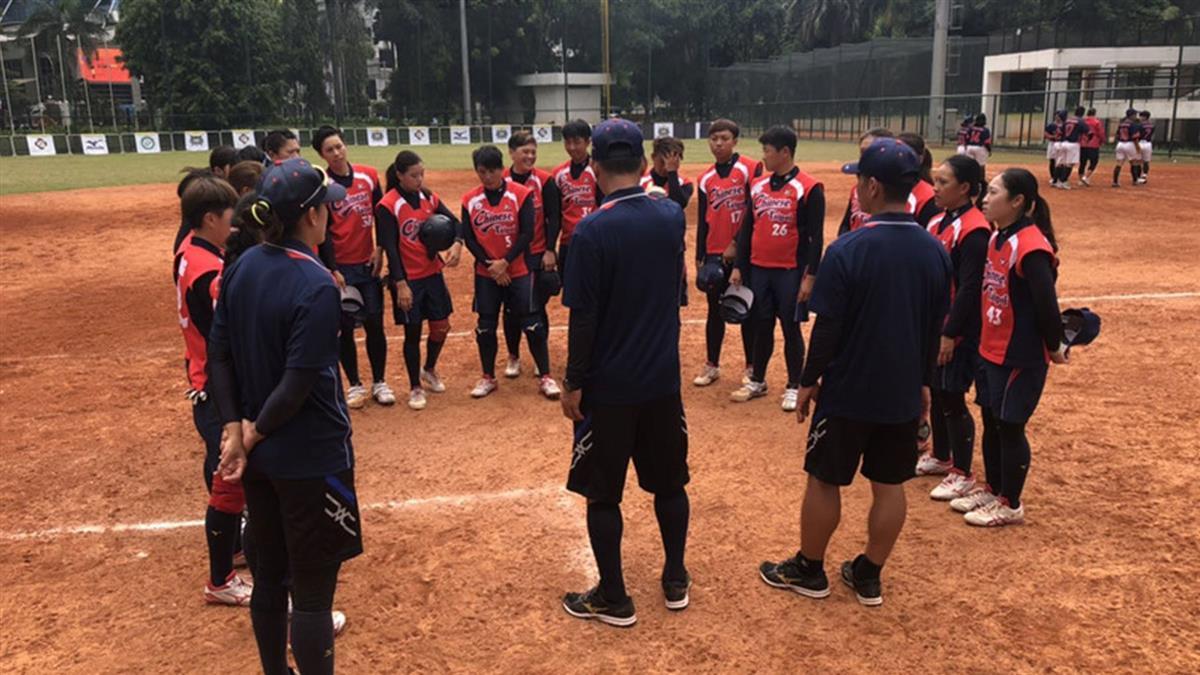 中華女壘亞洲盃晉4強 搶下奧運資格賽門票