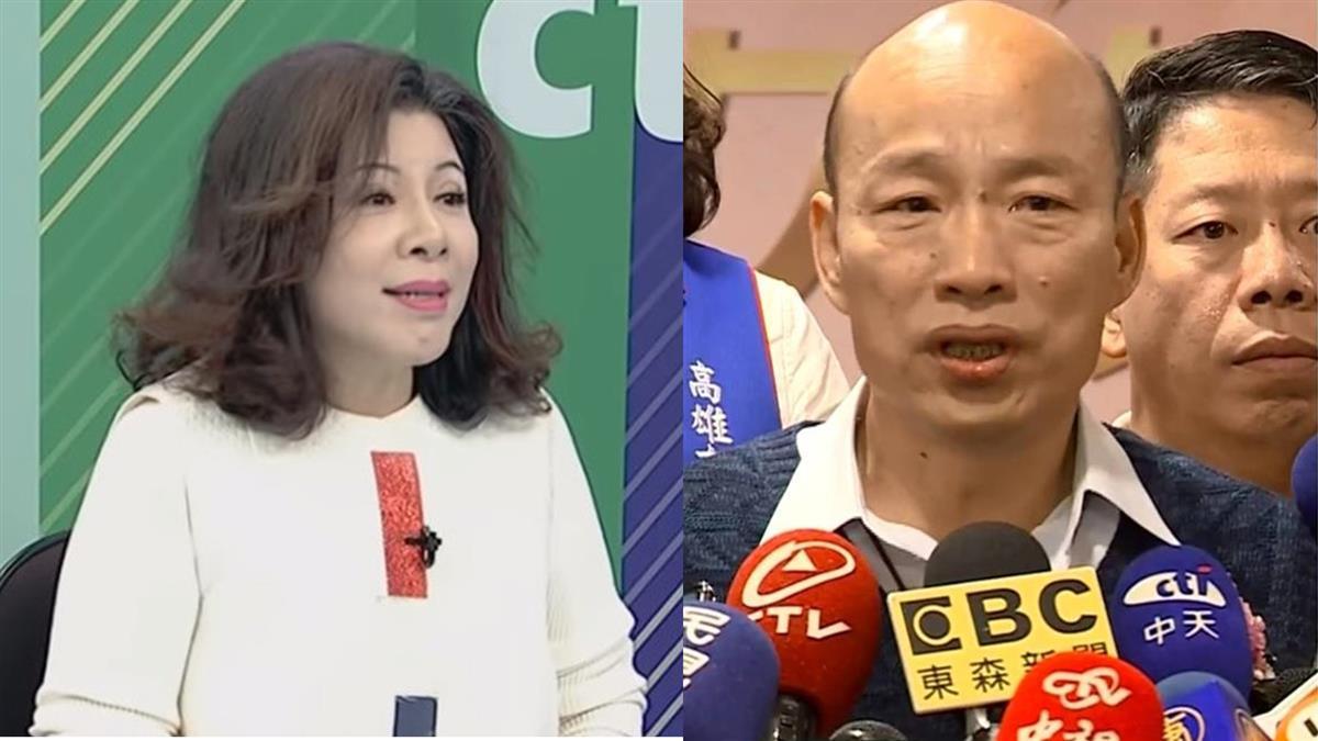 陳文茜爆韓國瑜選市長內幕 韓粉感動…網友開砲了