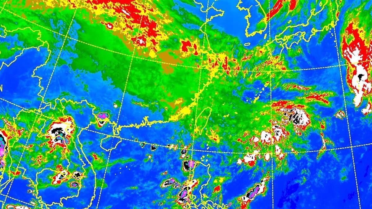 全台濕答答!東北風增強 中部以北高溫22度