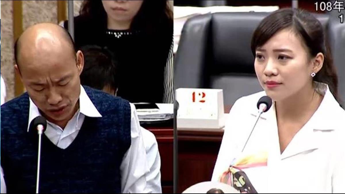 韓國瑜直播再提自經區 黃捷臉書10連問回嗆