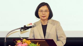 反對自經區 蔡總統:不能讓台灣貨大陸貨分不清