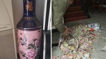老公藏13年私房錢在花瓶…破了 結局超悲傷