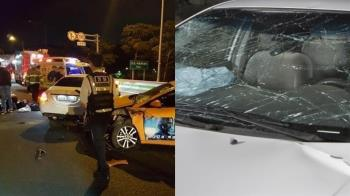 28歲女星被2車撞飛慘死! 公路等老公尿尿