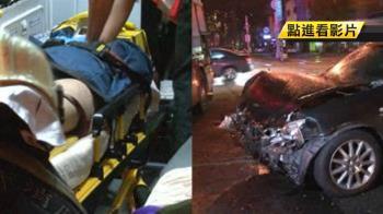 金錢豹排班計程車遭撞車翻覆 女送醫身亡