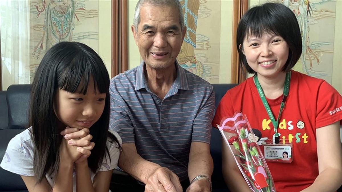 獨自養11歲孫女 71歲爺不怕苦:天無絕人之路