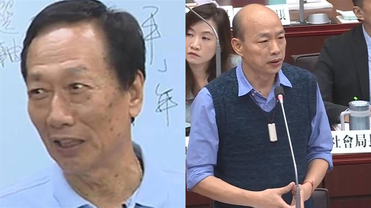 點名韓國瑜辯論 郭董:高雄上班要說清楚