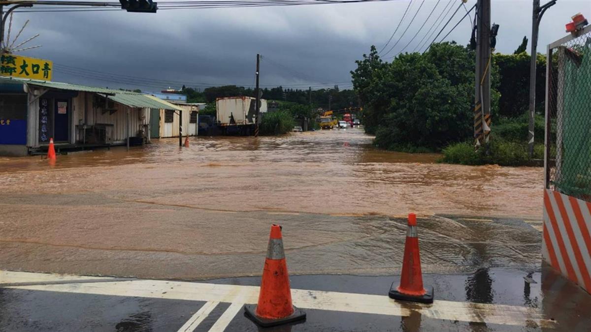 新豐地區多處淹水!明新科大宣布17日停課